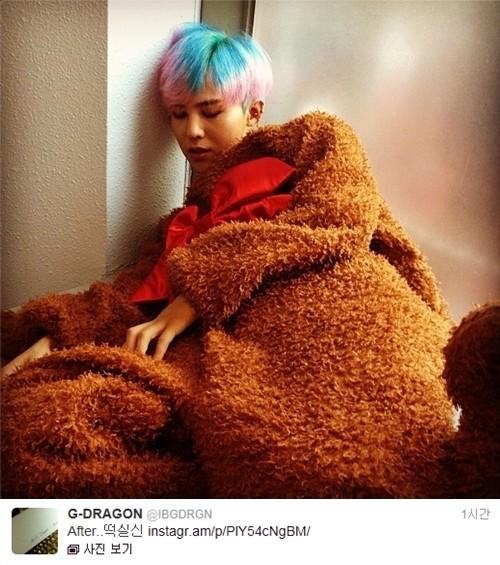 G dragon hair crayon