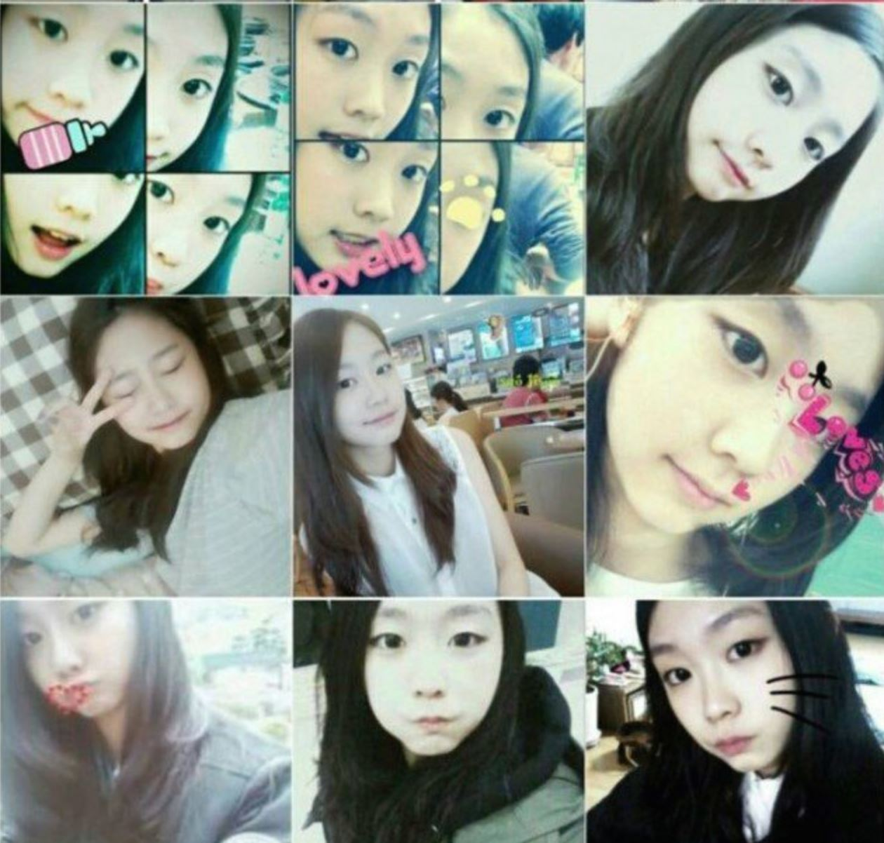 Leaked Photo Timeline of LOVELYZ Jisoo From Birth Til Now Prove She Is Unchanged