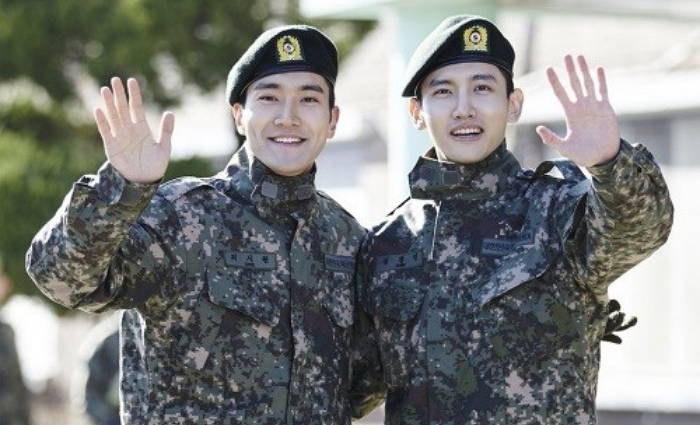 K-Pop Men We Just Love Seeing In (and out) of Uniform