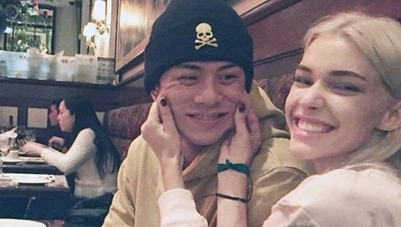 Beenzino's Girlfriend Stefanie Michova Surprises Him At The Military?