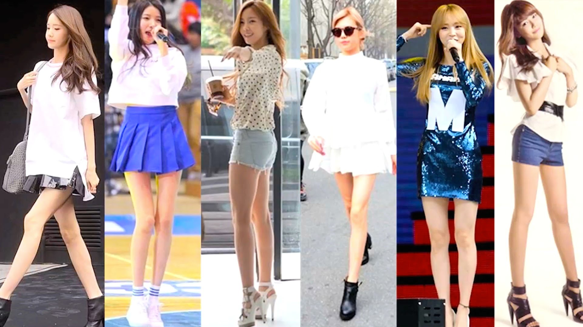 Female Idols Whose Legs Might Be SKinnier Than A Twig