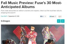 Big Bang G-Dragon Ranks in U.S. Fuse TV '30 Most Anticipated Albums'