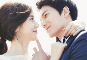 Ji Sung and Lee Bo Young