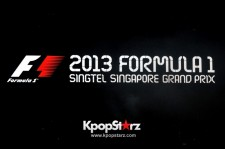 Big Bang Gets Together, Scores A Fantastic Night At 2013 FORMULA 1 SINGAPORE GRAND PRIX [PHOTOS]