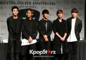 FTISLAND Stand as a Band in Sixth Anniversary Concert in Seoul