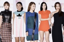 Actresses Dress Up for 'Vogue Fashion's Night Out Seoul' Party - Sep 27, 2013