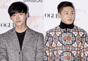 Lee Jong Suk, Yoo Ah In Chic and Manly for 'Vogue Fashion's Night Out Seoul' Party - Sep 27, 2013