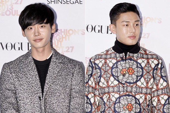 Lee Jong Suk, Yoo Ah In Chic and Manly for 'Vogue Fashion's Night Out Seoul' Party - Sep 27, 2013key=>0 count19