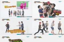 Teen Top Explodes with a Laughter Storm through 6 Person Piggyback