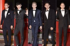 Top, Lee Hyun Woo, Lee Joon, Yoo Ah In,  Chun Jung Myung