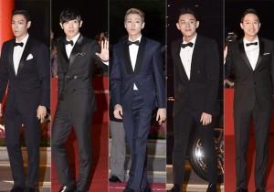 Top, Lee Hyun Woo, Lee Joon, Yoo Ah In,  Chun Jung Myung