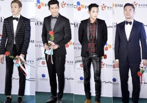Lee Hyun Woo, Ok Taek Yeon, Lee Soo Hyuk, Um Tae Woong