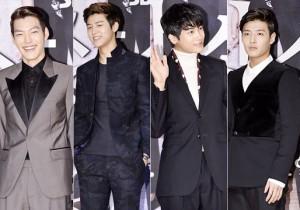 Lee Min Ho - CNBLUE Kang Min Hyuk - Kim Woo Bin - ZE:A Park Hyung Sik, Kang Ha Neul, Choi Jin Hyuk