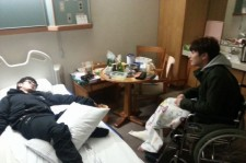 im seulong picture of jung jinwoon at hospital