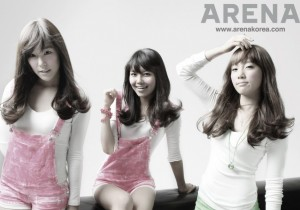 Girls' Generation (SNSD) ARENA KOREA Magazine shoot