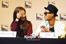 Top Korean Variety Game Show 'Running Man' Cast Displays Their Friendship And Power At Singapore Press Conference  [PHOTOS]