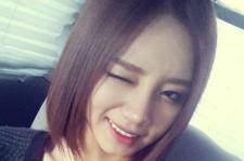 girls day hyeri wink self-camera