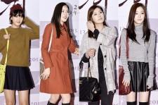 Go Ah Ra, Hwang Woo Seul Hye, Jung So Min & Lee Yoo Bi