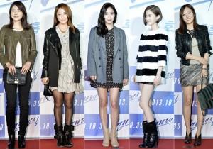 Lee Bo Young, Jung Yoo Mi, Jun Hye Jin, Kim Yoo Ri & So Yoo Jin