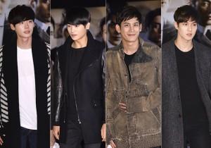 Lee Jong Suk, Park Hyung Sik, Park Ki Woong & Lee Jong Hyun