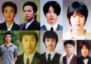 Boy Group Graduation Pictures