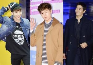 Jo Kwon, Lee Hyun Woo, Yoo Ji Tae