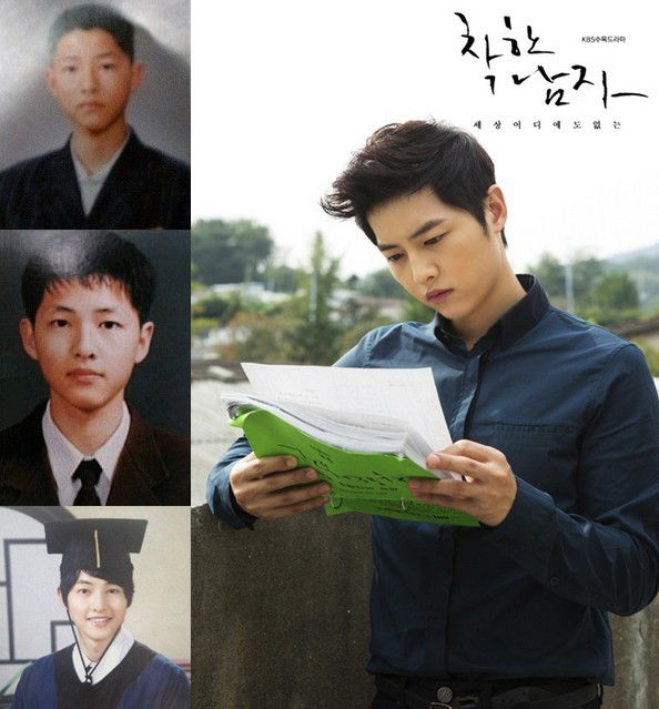 Song Joong Ki in 'The Innocent Man'key=>21 count25