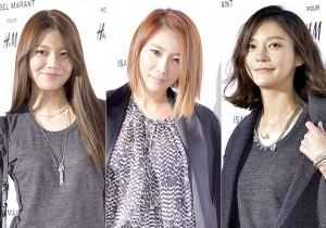 Girls' Generation Sooyoung-Brown Eyed GirlsJeA-Cha Ye Ryun Attend H&M Launching Event - Nov 12, 2013 [PHOTOS]