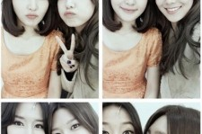 girls generation sooyoung picture with older sister at musical