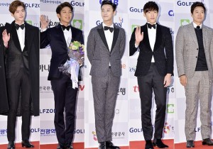 Lee Jong Suk Vs. Lee Joon Ki Vs. Joo Ji Hoon Vs. Choi Jin Hyuk Vs. Yeon Jung Hoon