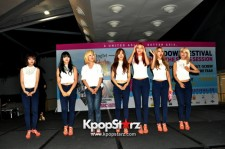 K-pop Girl Group AOA Captures Fans' Hearts With Heartwarming And Loving Interactions At Sundown Festival 2013 Fan Meeting In Singapore [PHOTOS]