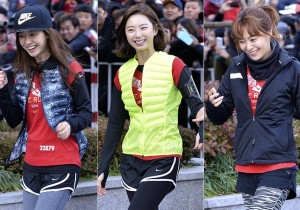 Song Ji Hyo, Park Soo Jin, Lee Young Eun