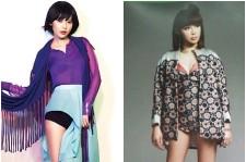 SNSD Sooyoung vs. 2NE1 Park Bom