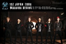 B.A.P to Begin 1st Japan Large Scale Tour starting November 19