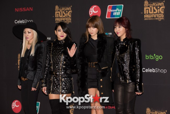 [PHOTOS] MNET Asian Music Awards 2013 MAMA in Hong Kong - 2NE1 on the Red Carpet - Nov 22 2013key=>3 count8