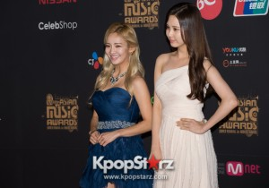 [PHOTOS] MNET Asian Music Awards 2013 MAMA in Hong Kong -Girls Generation Seohyun and Hyoyeon on the Red Carpet - Nov 22 2013