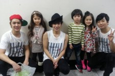 mblaq with mblaq's babies