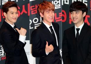 Suho, Baekhyun, D.O.