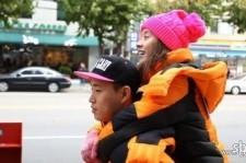gary carries song ji hyo on his back