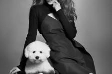 kara goo hara photo shoot with dog