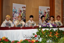 LC9 Attends LC9 Showcase Live In Singapore Press Conference, Discloses Comeback Before March! [PHOTOS]