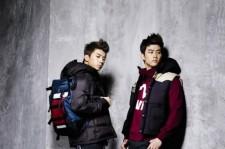2PM's Taecyeon-Wooyoung EVISU Fashion Photo Shoot