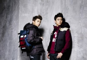 2PM's Taecyeon-Wooyoung EVISU Fashion Photo Shoot
