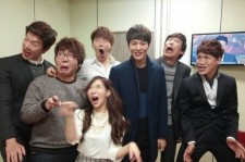 joo won picture with gag concert cast