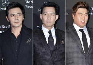 Jang Dong Gun, Lee Jung Jae, Ryu Hyun Jin