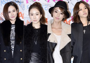 Ivy, Yoo In Na, Lee Da Hee, Cho Yun Hee