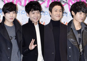 Lee Jun, Jung Kyung Ho, Jung Woo, Jung Joon Young