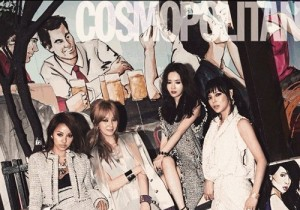 Lee Hyoli, Park Siyeon, MayBee, An Heykyoung's Fashion Magazine 'COSMOPOLITAN' Photo Shoot