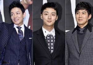 Lee Bum Soo, Yoon Si Yoon and Ryu Jin