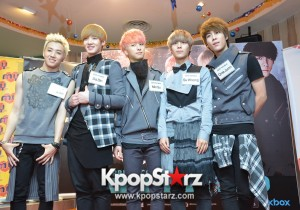 Boys Republic Attends ''I'm Ready'' Showcase Press Conference in Malaysia - Dec 6, 2013 [PHOTOS]